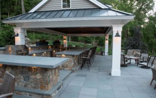 Outdoor Bar Grill1