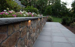 Wall and Walkway